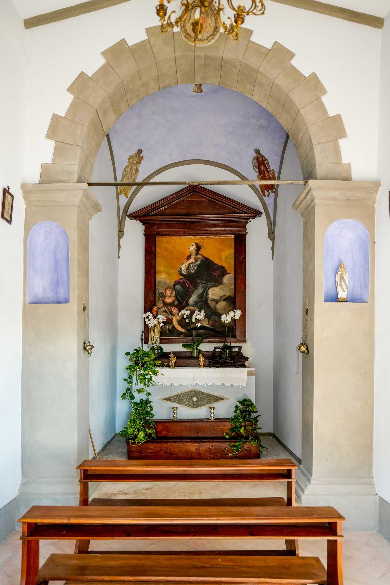 Agriturismo tenuta I Mandorli - la chiesetta consacrata