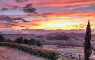Agriturismo Tenuta i Mandorli - tramonto 2