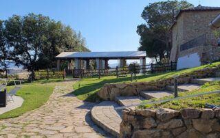 Agriturismo Tenuta i Mandorli - Il parco intorno alla piscina